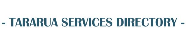 Tararua Services Directory